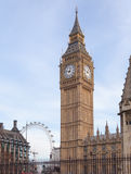 Big Ben in Central London Royalty Free Stock Images