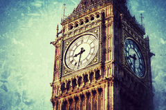 Big Ben in Central London Stock Images