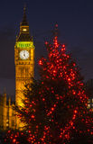 Big Ben at Christmas Stock Photo