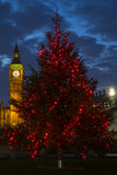 Big Ben Christmas Royalty Free Stock Image