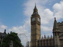 Big Ben - città di Londra fotografia stock