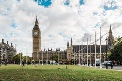 Big ben and city center of London, UK Stock Photo