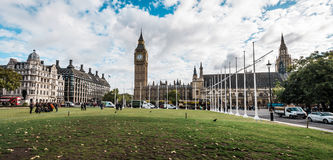 Big ben and city center of London, UK Stock Image