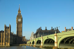 Big Ben Cityscape Royalty Free Stock Photography
