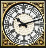 Big ben clock. Detail of big ben clock Royalty Free Stock Image