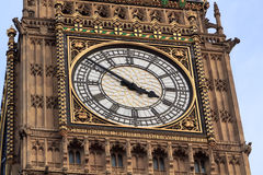 Big Ben clock detail Royalty Free Stock Photos