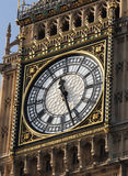 Big Ben Clock Face Stock Image
