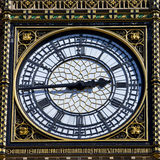 Big Ben Clock Face Detail in London Royalty Free Stock Photo