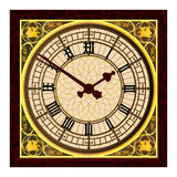 Big Ben at Clock Face Stock Photo