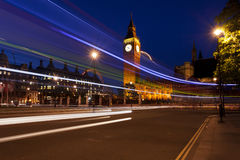 The Big Ben clock in London Stock Photography