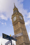 Big ben clock, london Stock Images