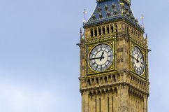 Big Ben Clock in London Stock Photography