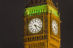Big Ben clock, London Royalty Free Stock Photos