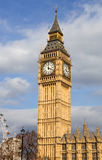 Big ben clock. London, big ben clock at the westminster city Royalty Free Stock Photography