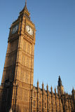 Big Ben clock tower. The clock tower of the Palace of Westminster, London, England Royalty Free Stock Image