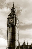 Big Ben Clock Tower. In London, England Royalty Free Stock Images