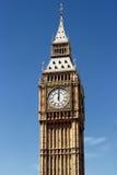 Big Ben. Clock tower (Elizabeth Tower) in London Royalty Free Stock Photo