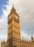 Big Ben clock tower at english parliament, Westminster palace Stock Images