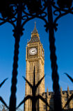 Big Ben clock tower, london Royalty Free Stock Photos