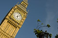 Big Ben Clock Tower, London Royalty Free Stock Images