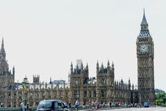 Big Ben Clock Tower London Stock Photo