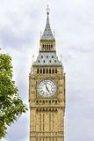 Big Ben (clock tower) in London Royalty Free Stock Image