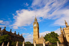 Big Ben Clock Tower in London England Royalty Free Stock Photography