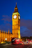 Big Ben Clock Tower in London England Royalty Free Stock Images