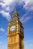 Big Ben Clock Tower in London England Royalty Free Stock Photos