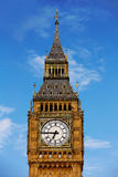 Big Ben Clock Tower in London England Stock Images