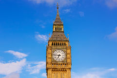 Big Ben Clock Tower in London England Royalty Free Stock Photo