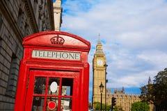 Big Ben Clock Tower in London England. Uk Stock Photo