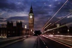Big Ben Clock Tower in London England. Uk Royalty Free Stock Images