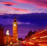 Big Ben Clock Tower in London England. Uk Royalty Free Stock Image