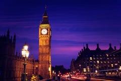Big Ben Clock Tower in London England. Uk Stock Photography