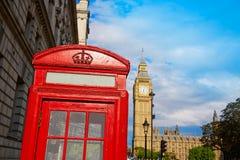 Big Ben Clock Tower in London England. Uk Royalty Free Stock Photo