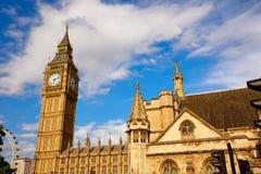 Big Ben Clock Tower in London England Stock Photo
