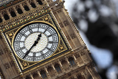 Big Ben clock tower London Houses of Parliament Stock Photography