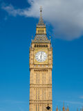 Big ben clock tower in London Royalty Free Stock Images