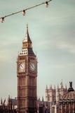 Big Ben clock tower. London landmark Big Ben, England, UK Royalty Free Stock Photography