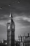 Big Ben clock tower. London landmark Big Ben, England, UK Stock Photos