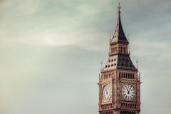 Big Ben clock tower. London landmark Big Ben, England, UK Stock Images