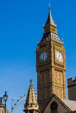 Big Ben clock tower London, vertical Royalty Free Stock Image