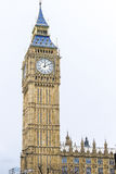 Big Ben Clock Tower Palace of Westminster London England UK. Big Ben is the nickname for the Great Bell of the clock at the Palace of Westminster in London Royalty Free Stock Image