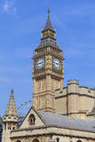 Big Ben, Clock tower of the Palace of Westminster, London, England, United Kingdom Royalty Free Stock Photography