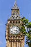 Big Ben, Clock tower of the Palace of Westminster, London, United Kingdom Stock Photo