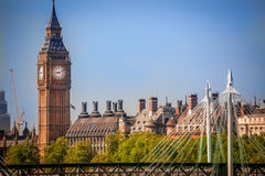 Big Ben clock tower Royalty Free Stock Photo