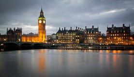 Big Ben Clock Tower and Parliament house Royalty Free Stock Photos