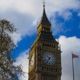 Big Ben clock. Clock tower time Stock Photo