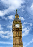 Big Ben clock tower at Westminster, London Stock Images